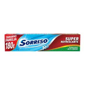 496cf1c70d7f223be109b6b984a0aaa3_creme-dental-sorriso-com-calcio-super-refrescante-180g_lett_1